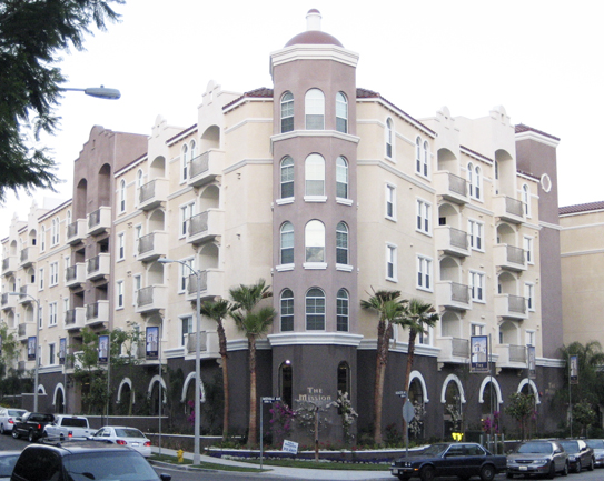 the mission westwood new apartment building in los angeles